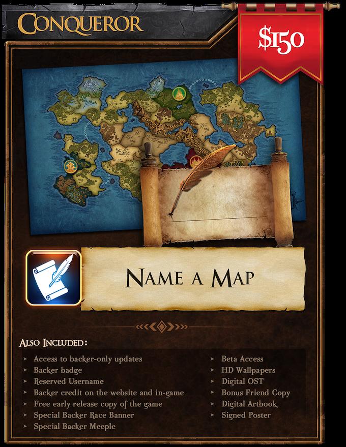 Conqueror (150): Name a Map!