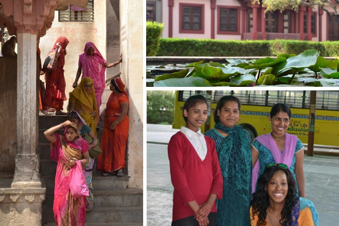 Photos from Margot's last trip to India - Margot Pictured bottom right - ©Margot Greer