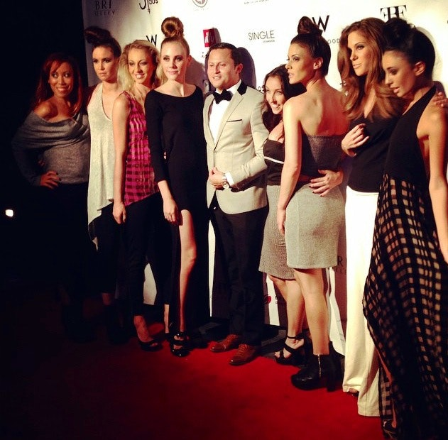 """W Hollywood Fashion Night Out Fashion Show featuring FBF by Checka and her modeling friends! """"I always say I am so lucky to have nice, genuine, supportive, and beautiful friends. Don't know what I would do without you!"""""""