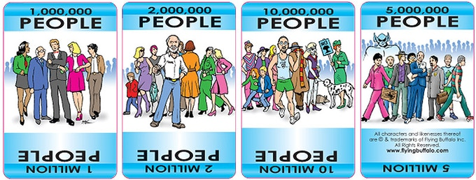 Population cards