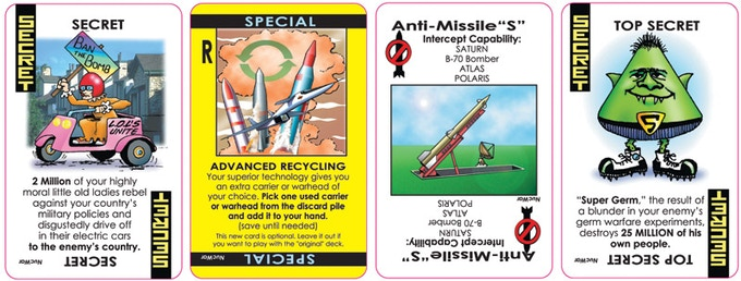 Nuclear War Card Game 50th Anniversary Edition By Richard