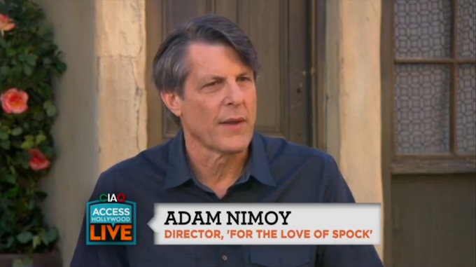 Adam talks with ACCESS HOLLYWOOD LIVE! 6/24/15