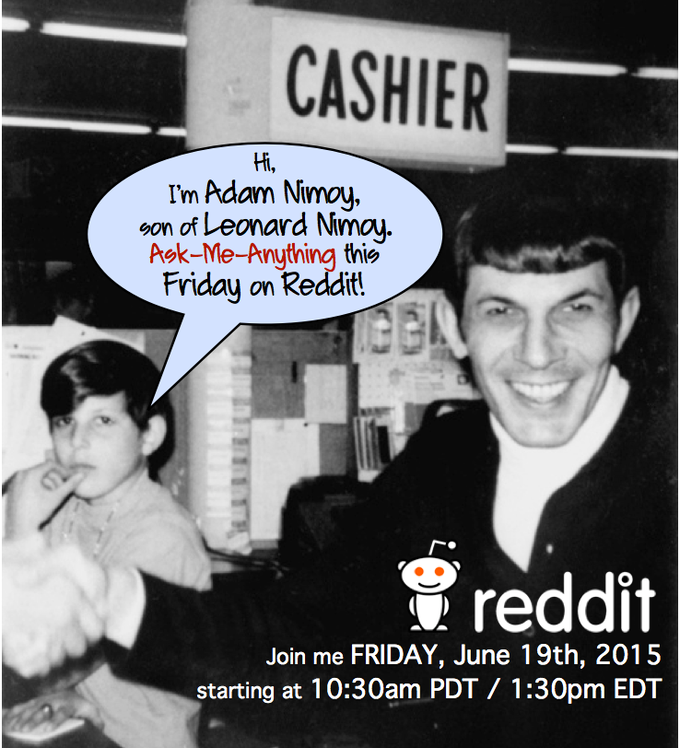 Did you miss Adam's live AMA (Ask-Me-Anything) on Reddit?