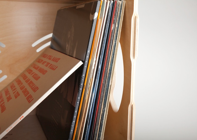 Show off your vinyl. Your prized collection should be as easy to admire as it is to search through.