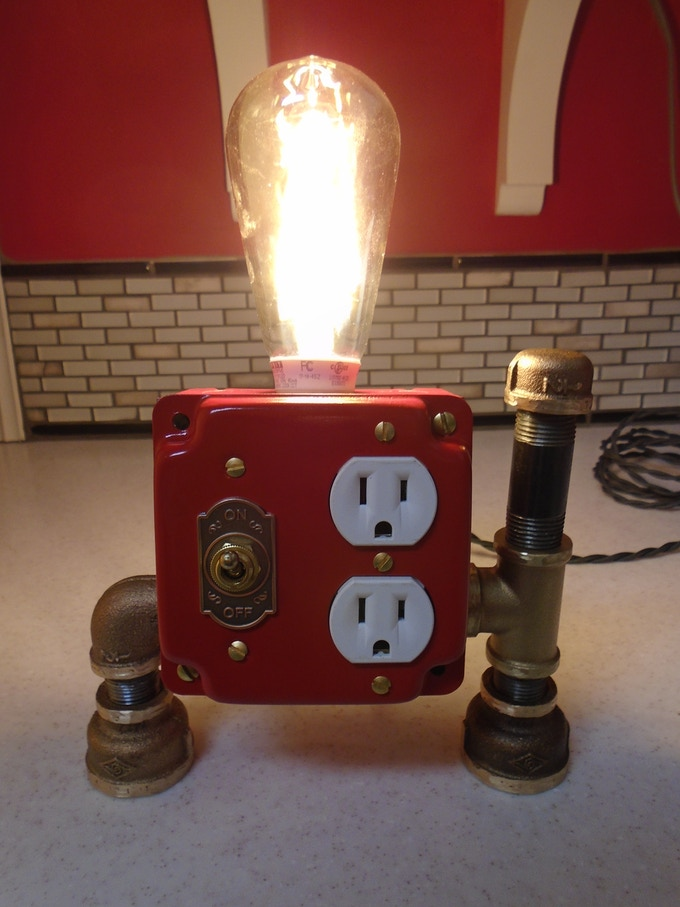Steampunk Lamps Amp Solar Punk Foldable Panels Hooray By