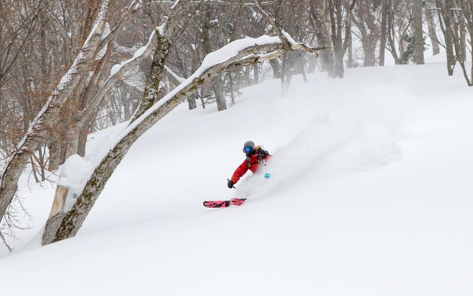 Anna Segal slashing some pow!