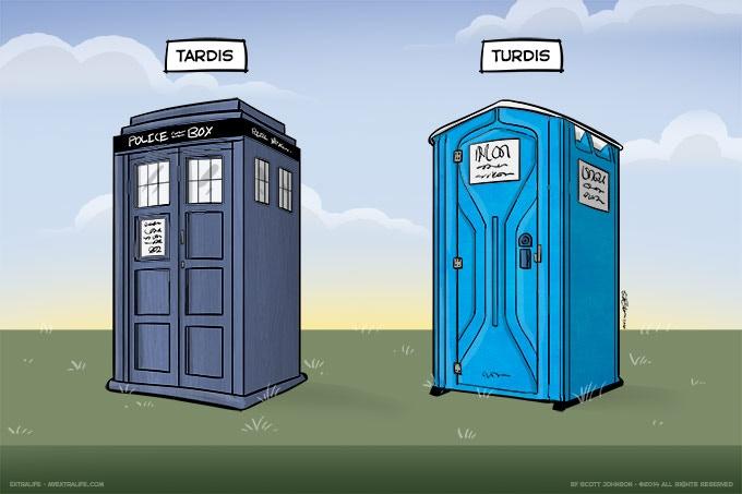 Tardis vs Turdis