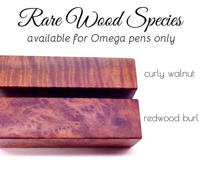These two rare species are available for the Omega pens only