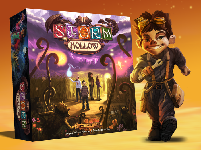 Storm Hollow calls friends and family of all ages to enter a world of thrilling stories and fantasy adventures... for about an hour.