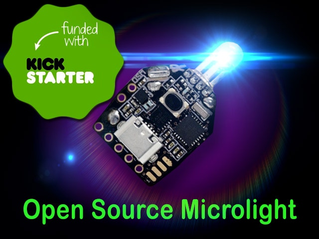 OSM ,The Arduino based Open Source LED Gloving Microlight by