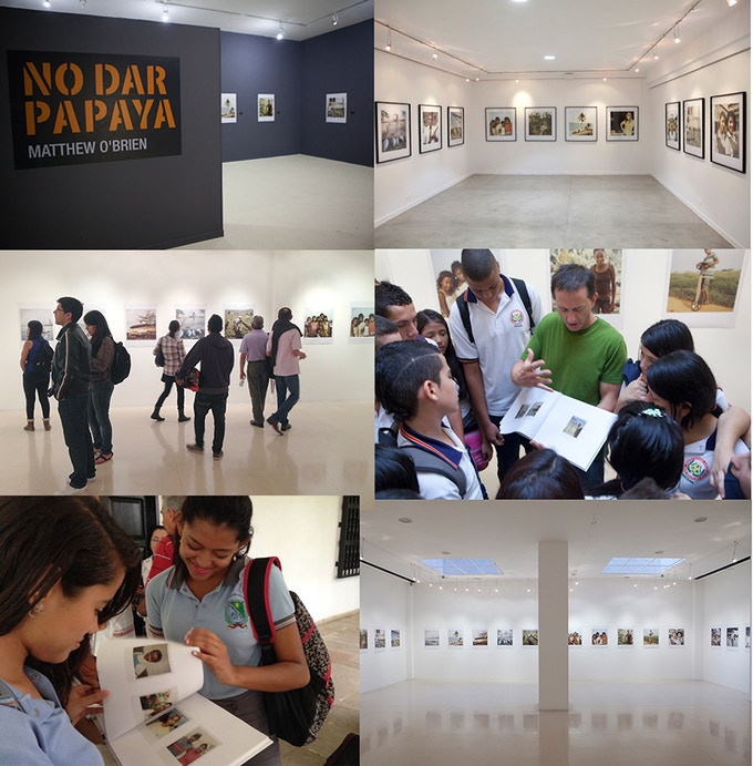 Exhibitions in Medellín, Santa Marta, and Pereira