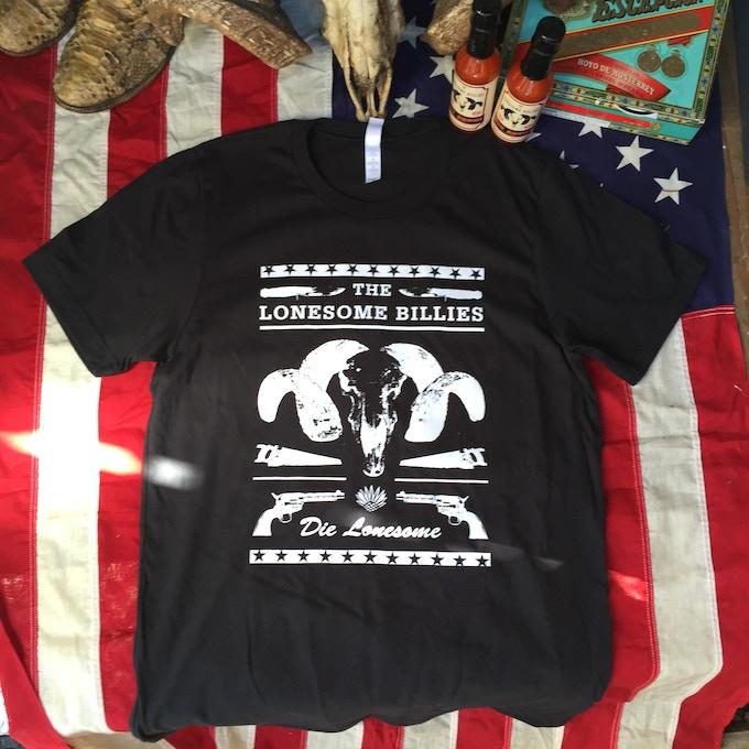 Die Lonesome Punk Rock T-shirt