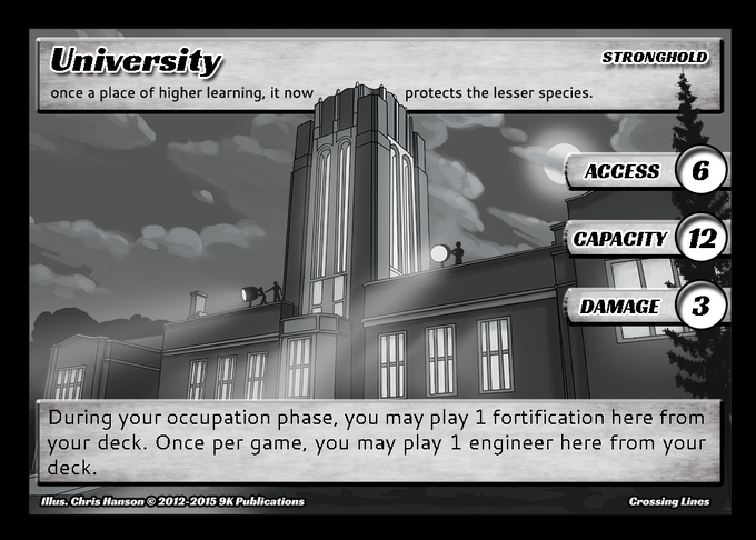 University Stronghold