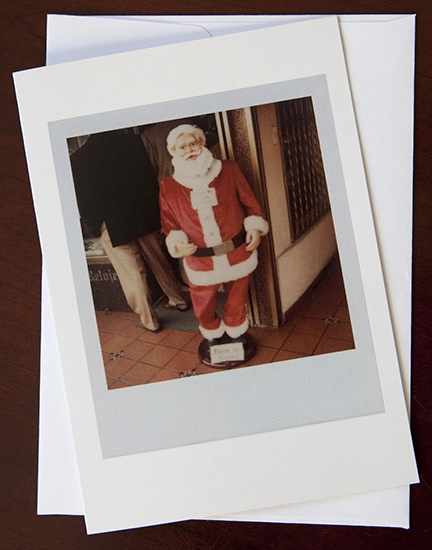 Santa Claus in Bogotá holiday cards (please see Reward #1)