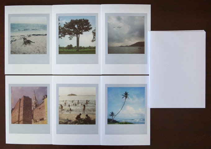 Complete set of 6 No Dar Papaya greeting cards (please see Reward #2)