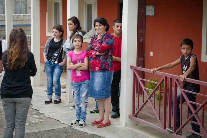 A Children's House in a village outside Tbilisi