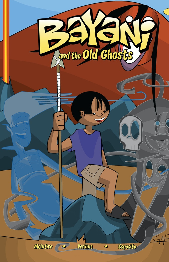 Cover art for Bayani and The Old Ghosts, Issue #1
