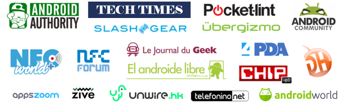 Flitchio has been featured in dozens of tech media all over the world, in more than 15 languages!
