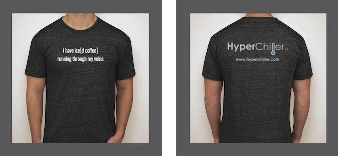 HyperChiller t-shirt ~ American Apparel tri-blend
