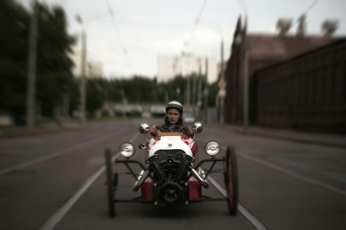 Riding the Picar
