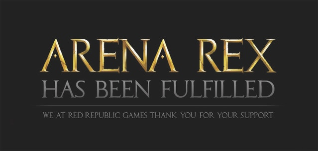 Arena Rex: Gladiator Combat in a Mythic Age by Red Republic Games