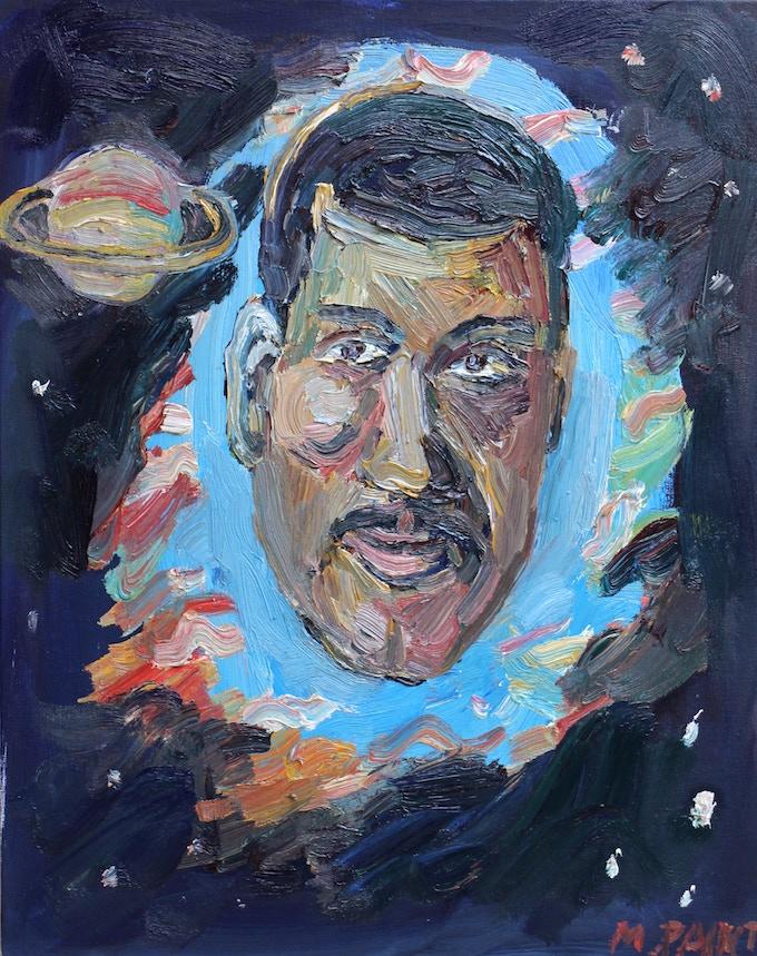 Portrait of Neil Degrasse Tyson