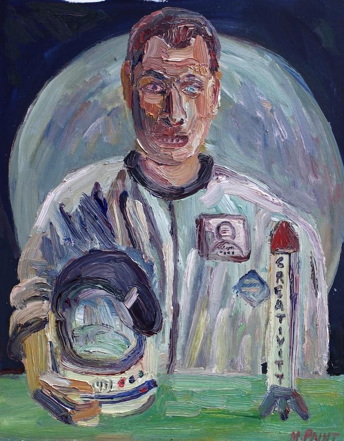Portrait of Astronaut Paulette