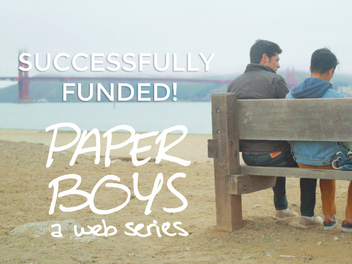 Help fund two new episodes of Paper Boys, a series about discovering who you are, and with a bit of magic, becoming who you want to be.