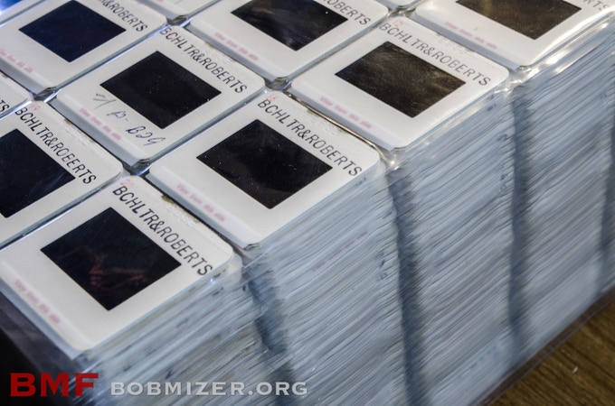 This is how we will archive Bob Mizer's 700,000 35mm transparencies.