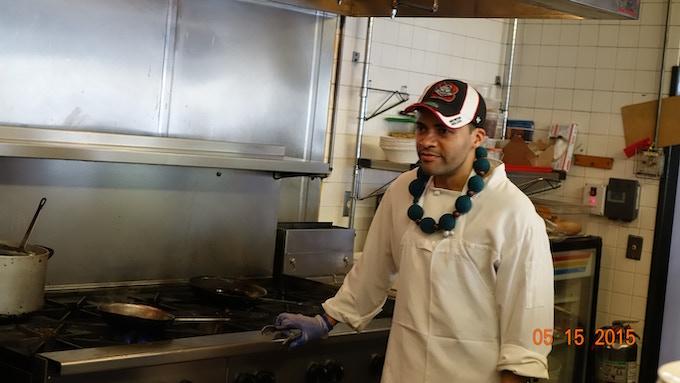 Chefs get hot too!