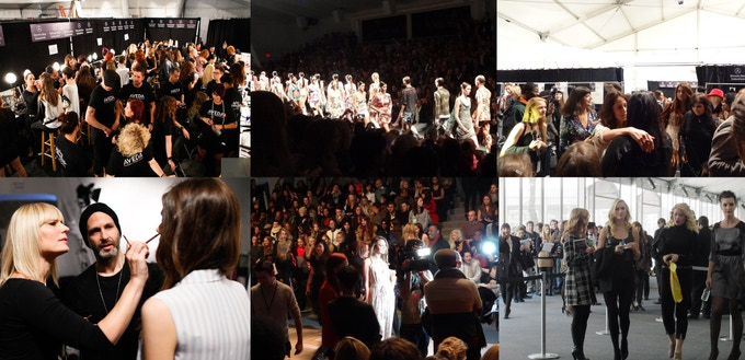 Images of NYFW Fashion Show