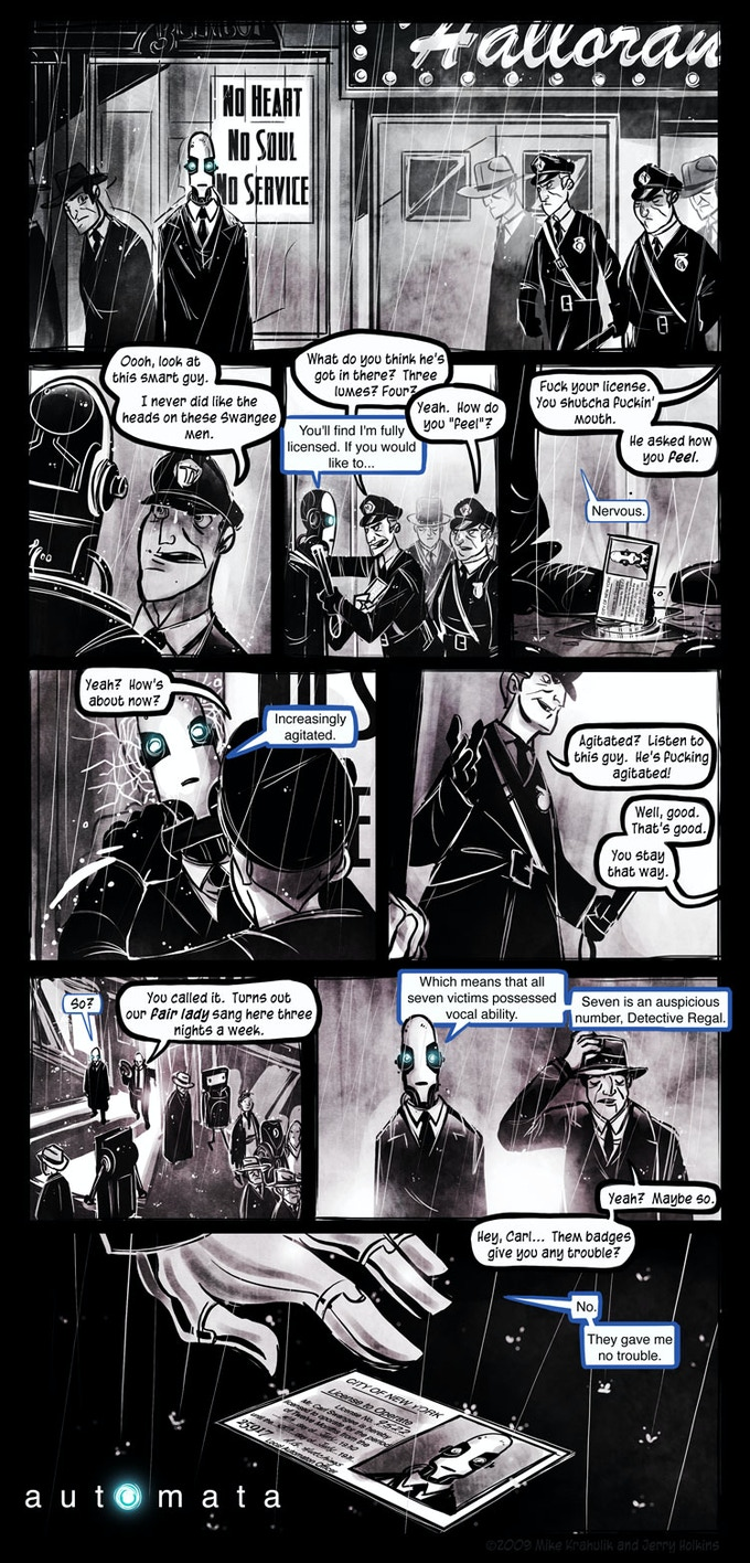 Page 1 to the original Automata series.
