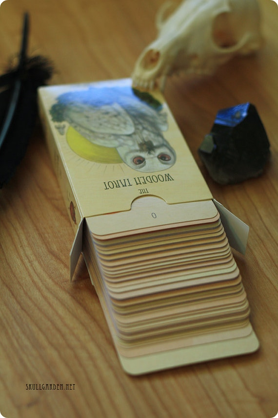 An addition of the Minor Arcana to The Wooden Tarot, reprinted as a 78 card full tarot deck.