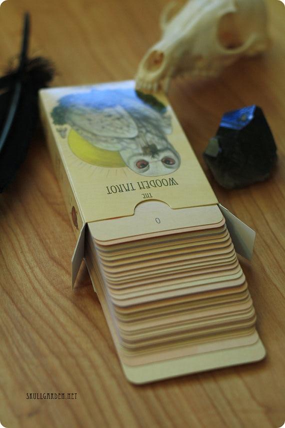 the wooden tarot full deck by andy swartz kickstarter