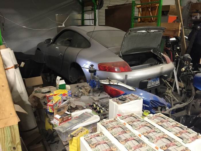 What will become an electric Porsche