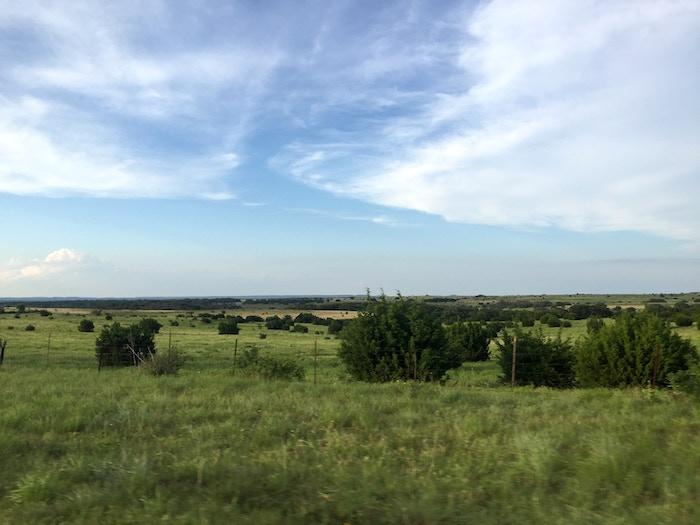 Texas is big, but the scenery is amazing.