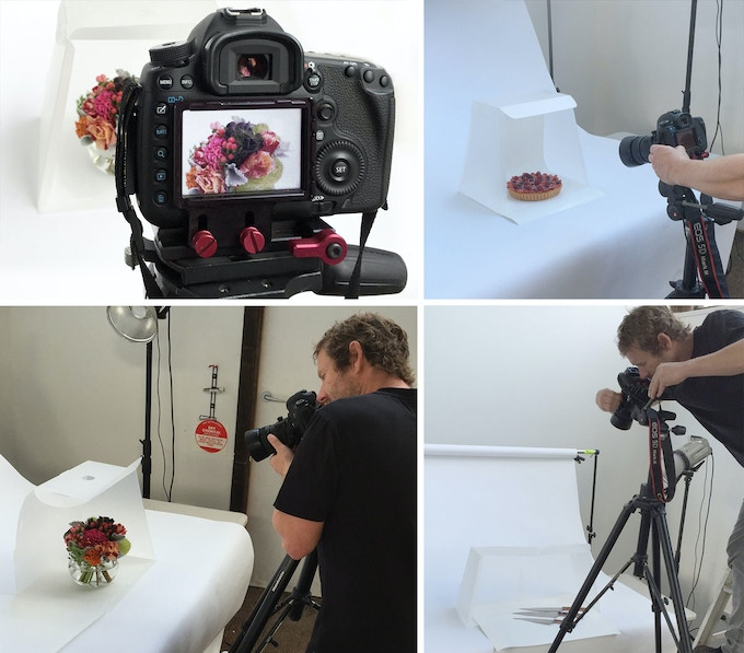 Professional photographer Liam Lynch didn't need his studio lighting here. The Lightcase enhances the natural light giving more natural colours and soft shadows.