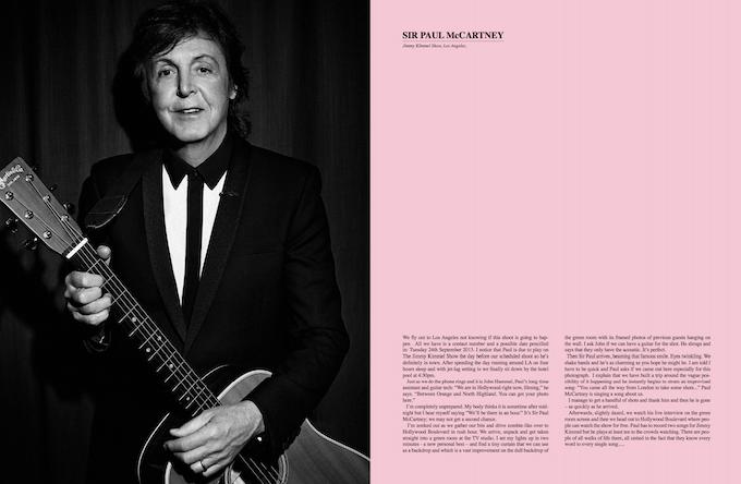 Paul McCartney draft page