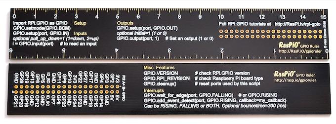RasPiO GPIO Ruler prototype