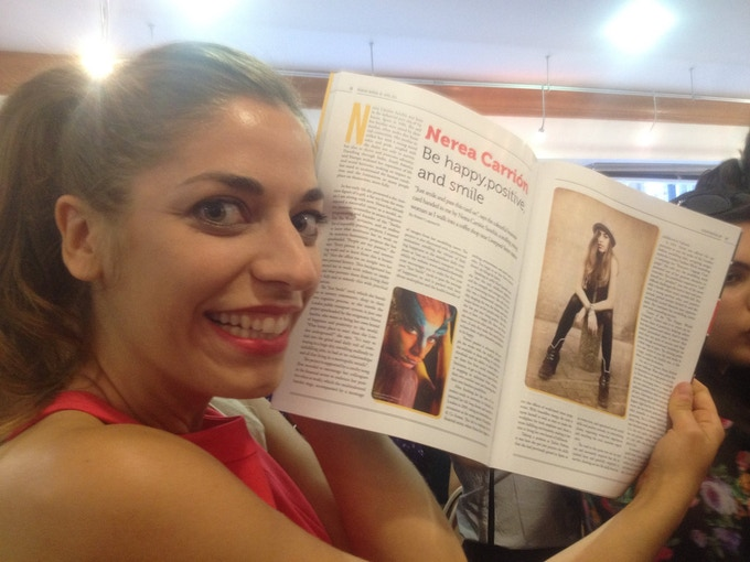 Migrant Woman Magazine Publication