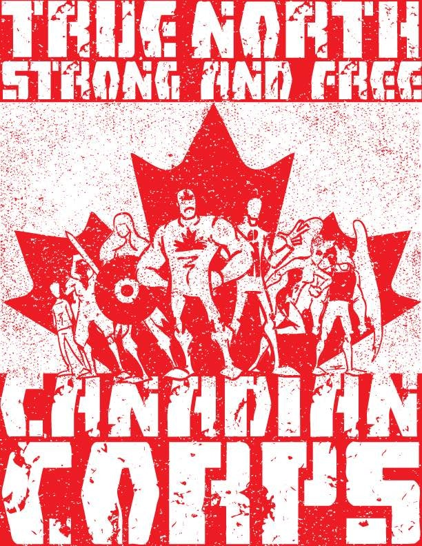 Canadian Corps print by James Zintel