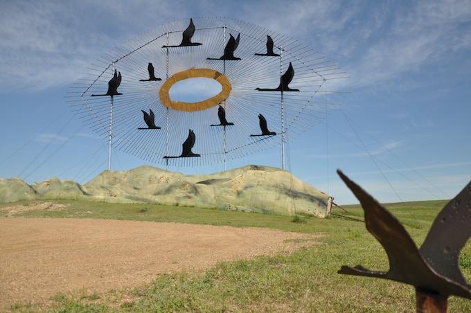 """Geese In Flight"""