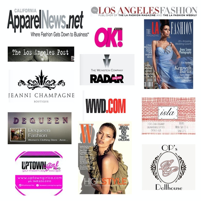 Look how Checka is capturing media attention and taking the Fashion World by storm!!