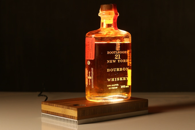 A sweet whiskey lamp for those Kickstarter-stress filled nights