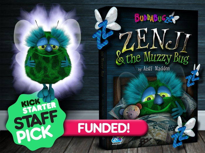 Zenji & the Muzzy Bug, introduces mindfulness to children in a new and exciting way, AND helps them get to sleep at bedtime! The Buddabugzz brand was purposefully created to entertain & promote positive mental health from infancy.