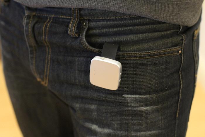 Uamp - stick to clip via magnets