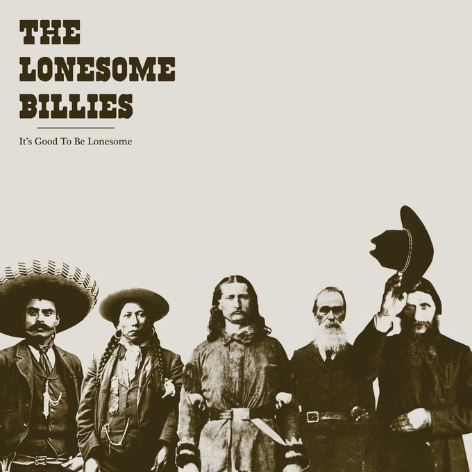 It's Good To Be Lonesome Album Cover