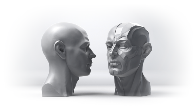 5inch or 13cm Topography head cast
