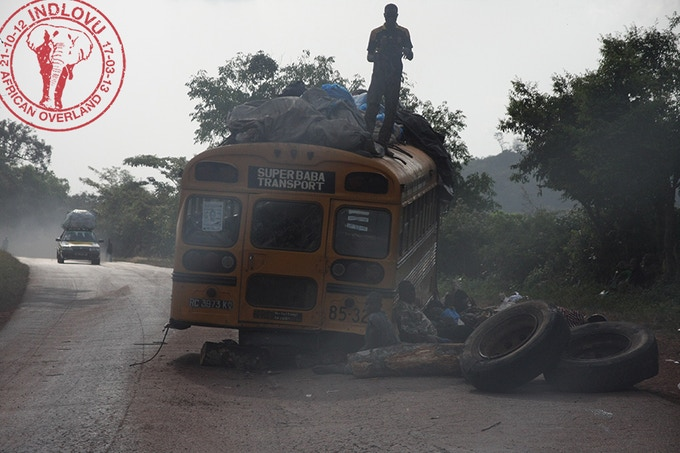 Remote roadside, Guinea
