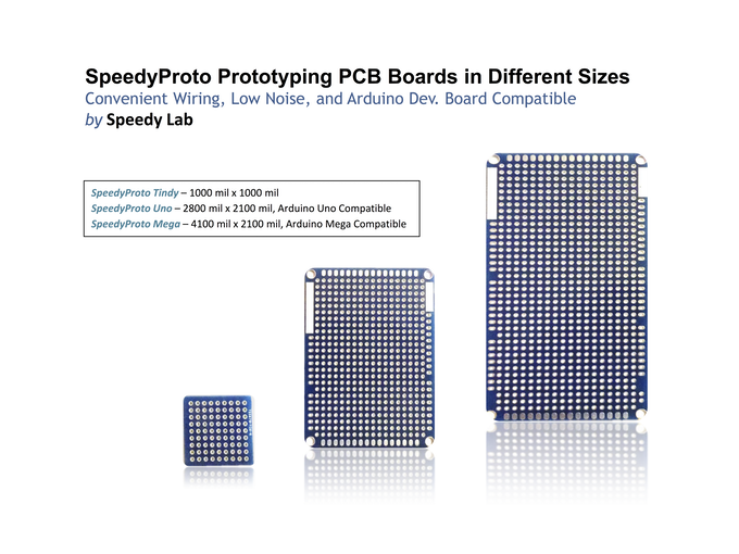 SpeedyProto - The Only ProtoBoard with a Ground Plane by